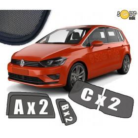 UV Car Shades, Sunshades, Car Window Sun Blinds VW Volkswagen Golf Sportsvan