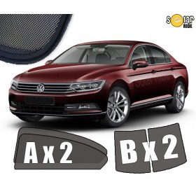 UV Car Shades, Sunshades, Car Window Sun Blinds VW Volkswagen Passat B8 Saloon Sedan