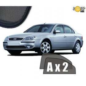 UV Car Shades, Sunshades, Car Window Sun Blinds Ford Mondeo 3 III Sedan (2000-2006)