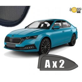 UV Car Shades, Sunshades, Car Window Sun Blinds Skoda Octavia 4 IV Liftaback  2019-